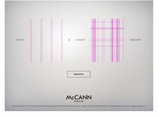 Recrutement McCANN Prague 3