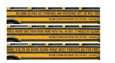 Recrutement chauffeur d'autobus