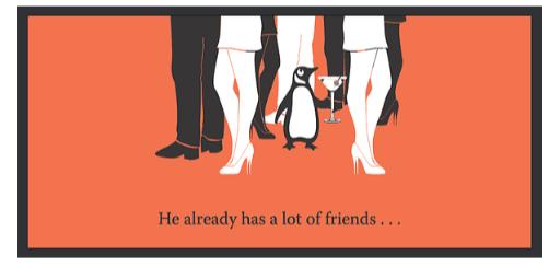 Pingouin a des amis