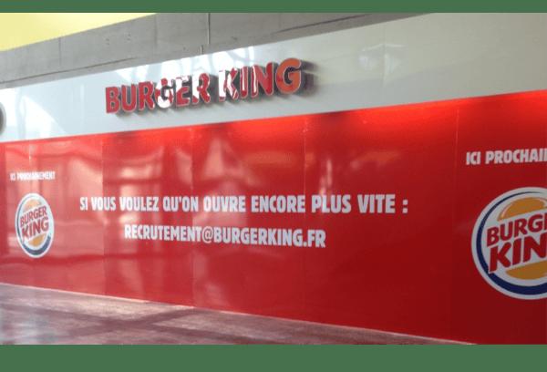 Recrutement Burger King
