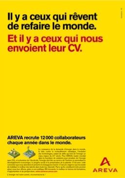 Recrutement Areva