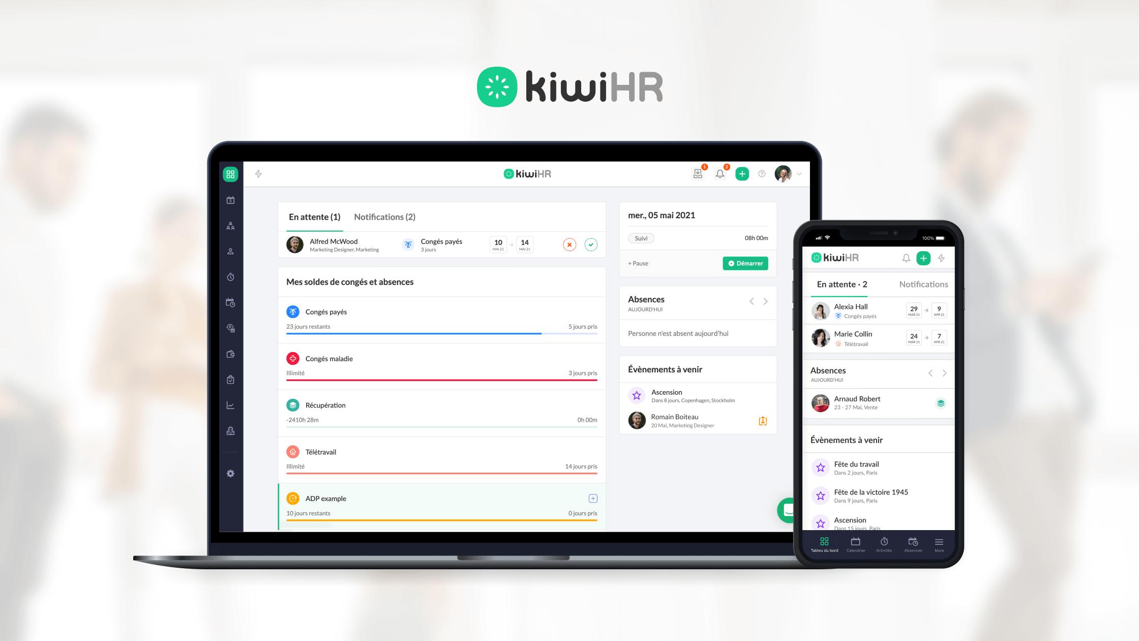 kiwi HR logiciel